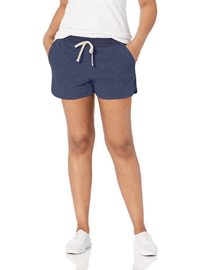 Pantalón corto de felpa francesa para mujer Amazon Essentials