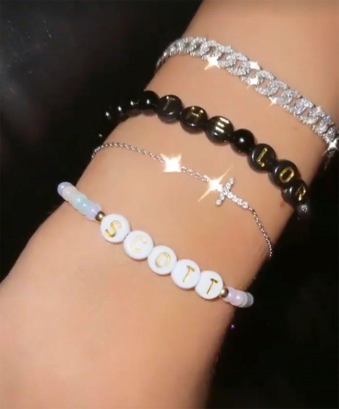 Amelia Gray Hamlin Adds a 'Scott' Bracelet to Her Stack: Pics