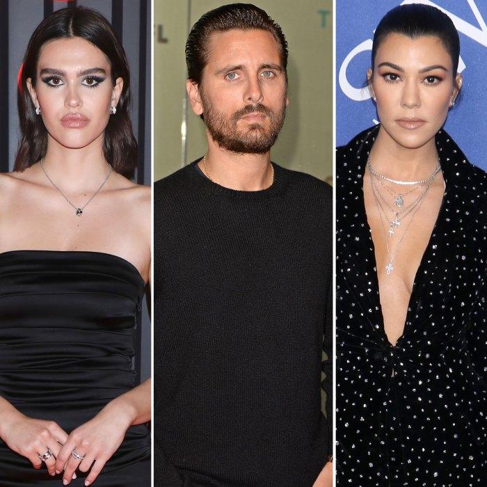 Amelia Hamlin Not Bothered by Scott Disick and Kourtney Kardashian Relationship