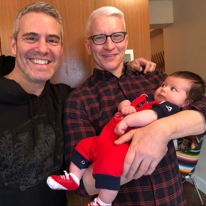 Anderson Cooper Admits Andy Cohen's Hand-Me-Downs Aren't Son Wyatt's Style
