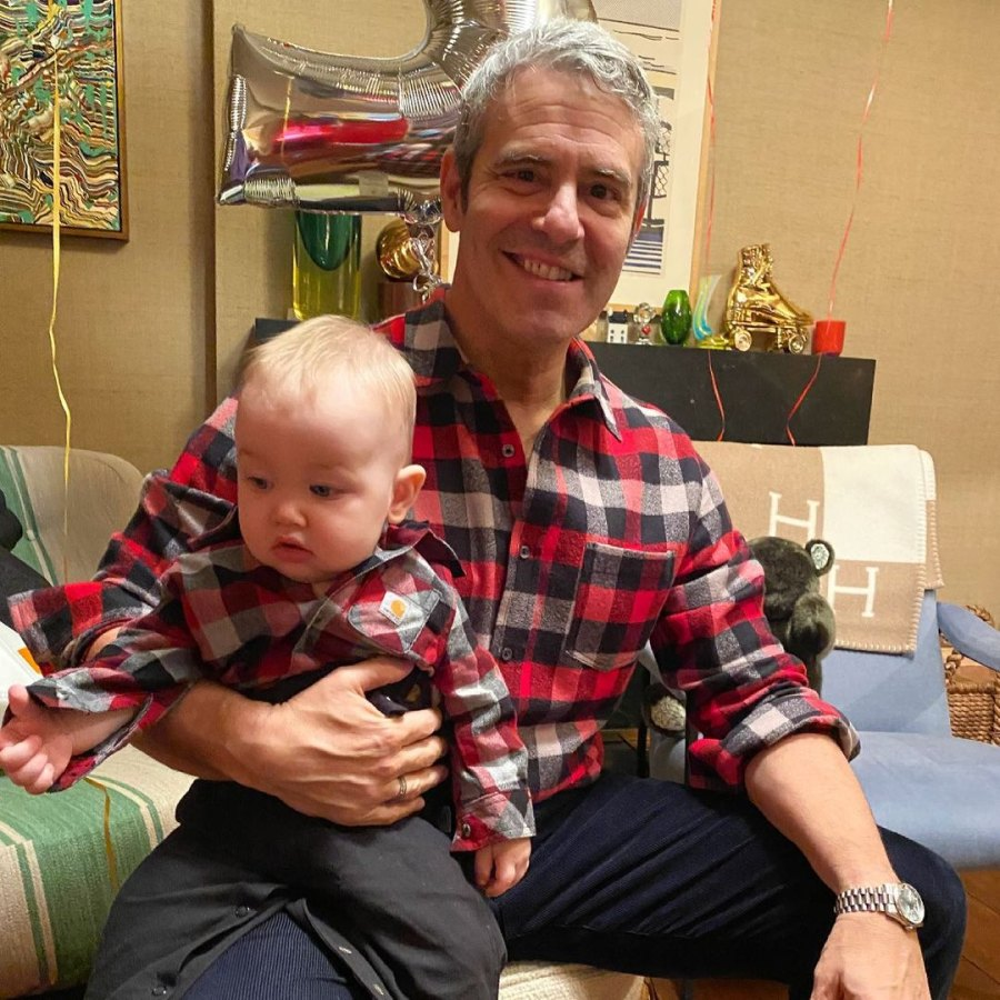 Andy Cohen Matches Anderson Cooper's Son While Celebrating 1st Birthday