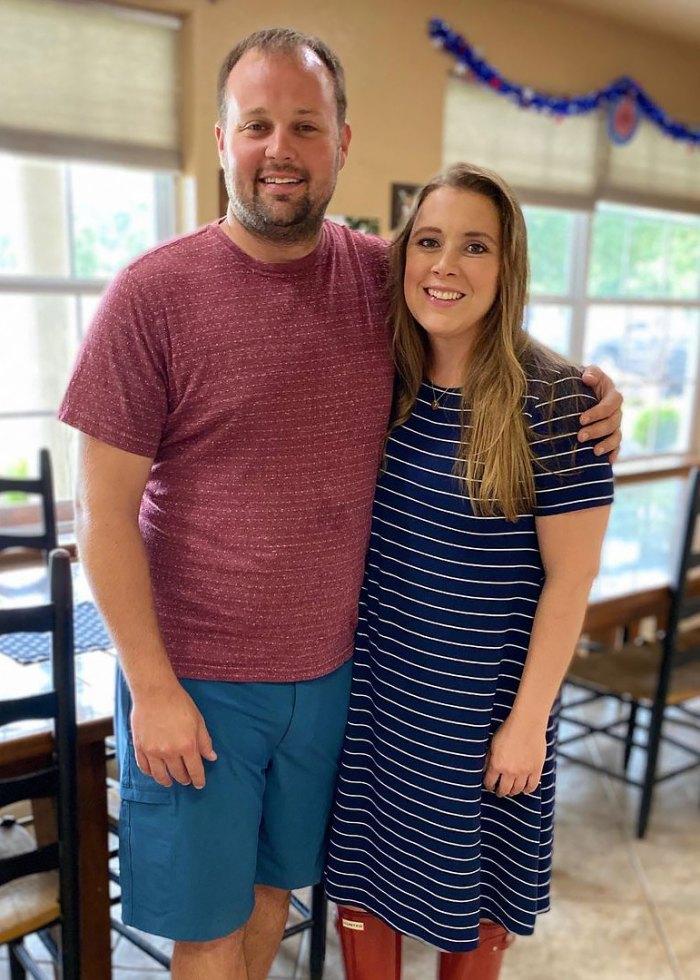 Anna Duggar está embarazada, esperando el séptimo hijo con Josh Duggar