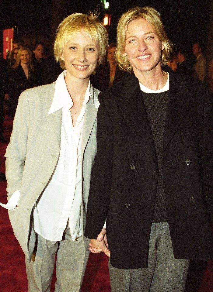 Anne Heche Ellen DeGeneres no quería que me vistiera en una alfombra roja sexy