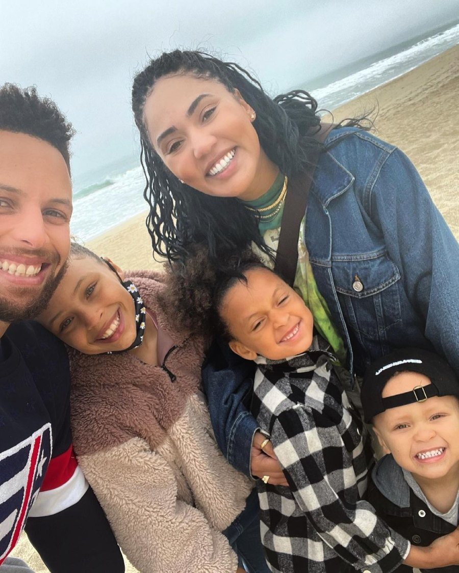 Beach Bums! See Stephen and Ayesha Curry's Family Album With 3 Kids