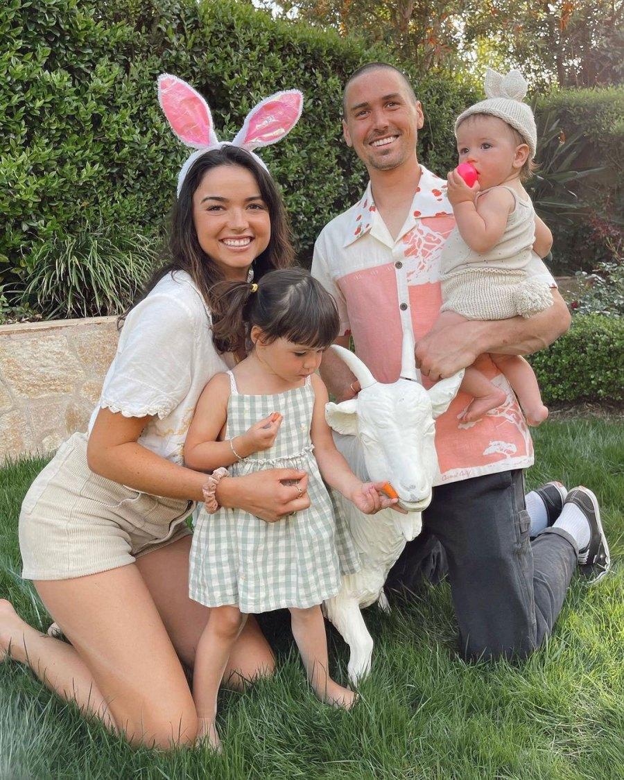 Bekah Martinez Parents Dress Kids in Festive Easter Outfits