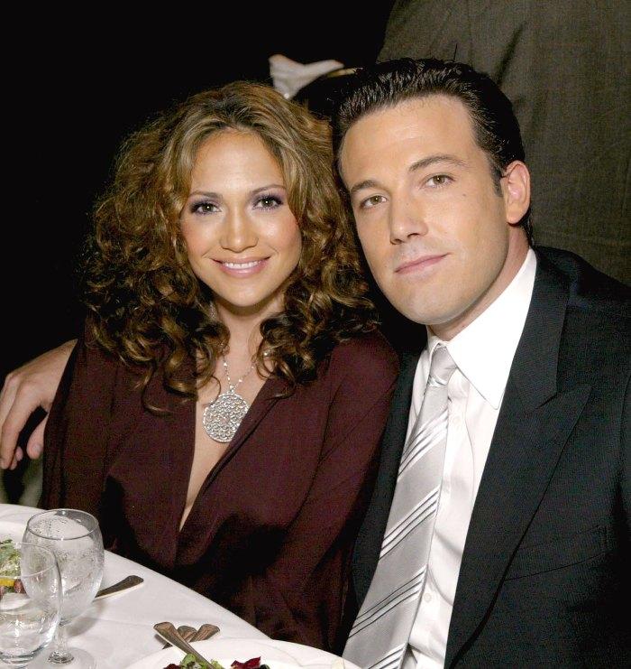 Ben Affleck se entusiasma con su ex prometida Jennifer Lopez