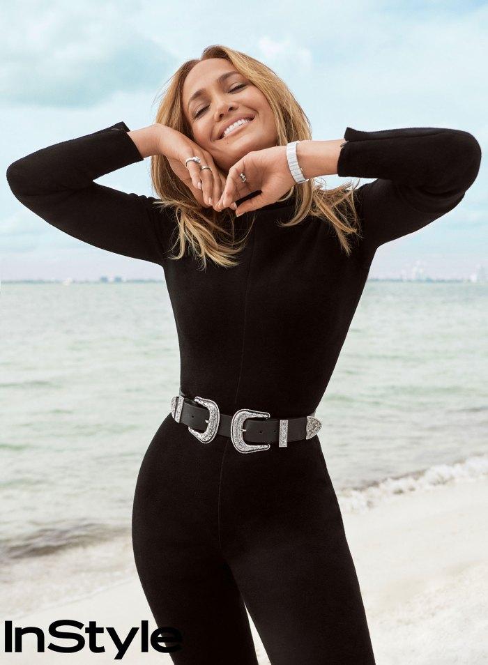 Ben Affleck se entusiasma con su ex prometida Jennifer Lopez InStyle Mayo de 2021