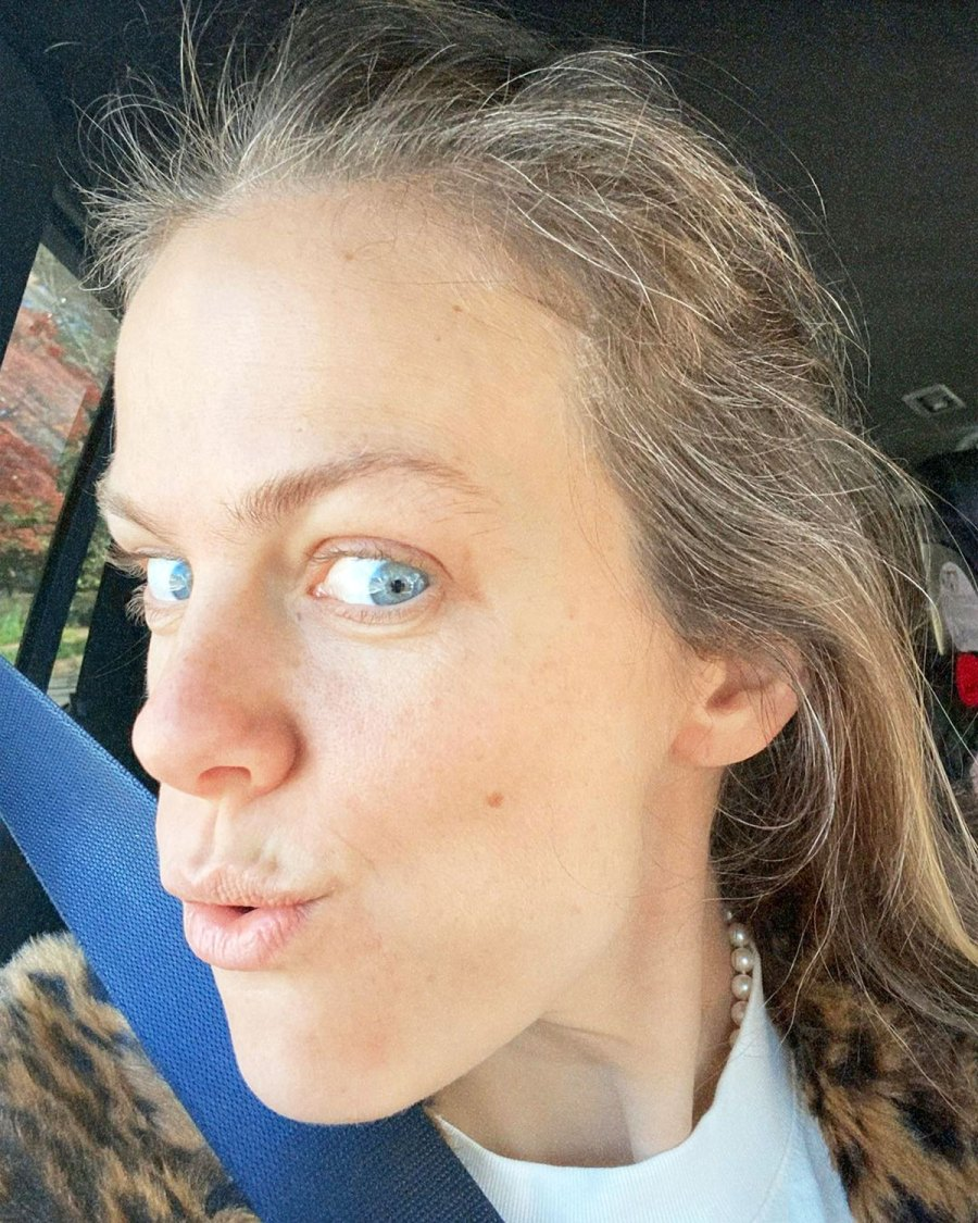 Brooklyn Decker Is 'Kinda Digging' Her Natural Gray Hair