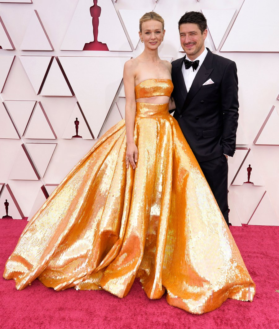 Carey Mulligan and Marcus Mumford Couples Dazzle at Oscars 2021