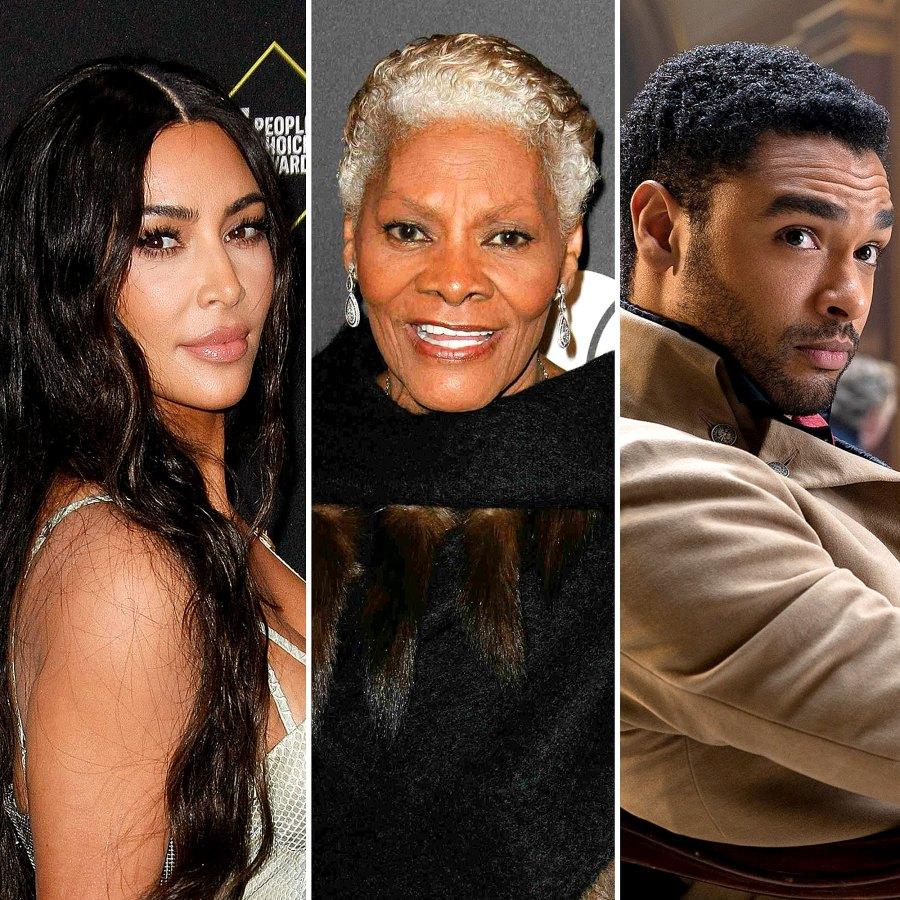 Kim Kardashian Dionne Warwick Celebs React Rege-Jean Pages Bridgerton Exit