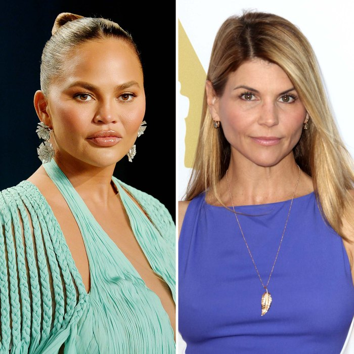 Chrissy Teigen Jokes That She Needs Lori Loughlin's Help to Get Into College