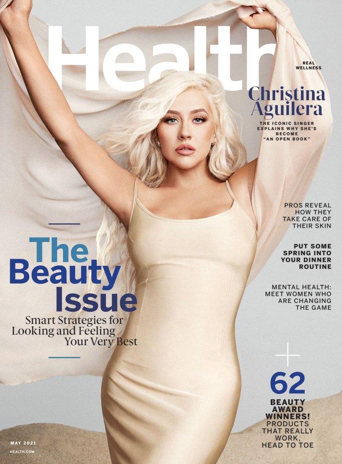Christina Aguilera comparte cómo aprendió a comenzar a apreciar su cuerpo