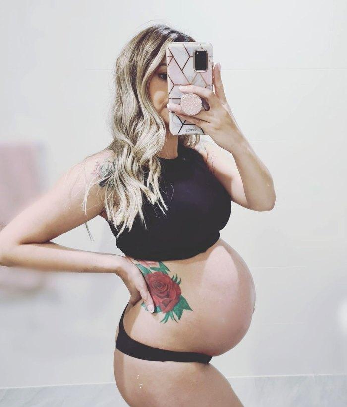 Dani Soares confirma su embarazo: ¡vea la foto de la barriga del bebé de la estrella 'Debajo de la cubierta'!