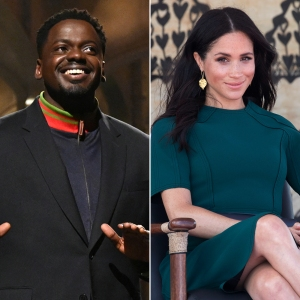 Daniel Kaluuya Takes a Jab at Royals After Meghan Markle's Racism Claims