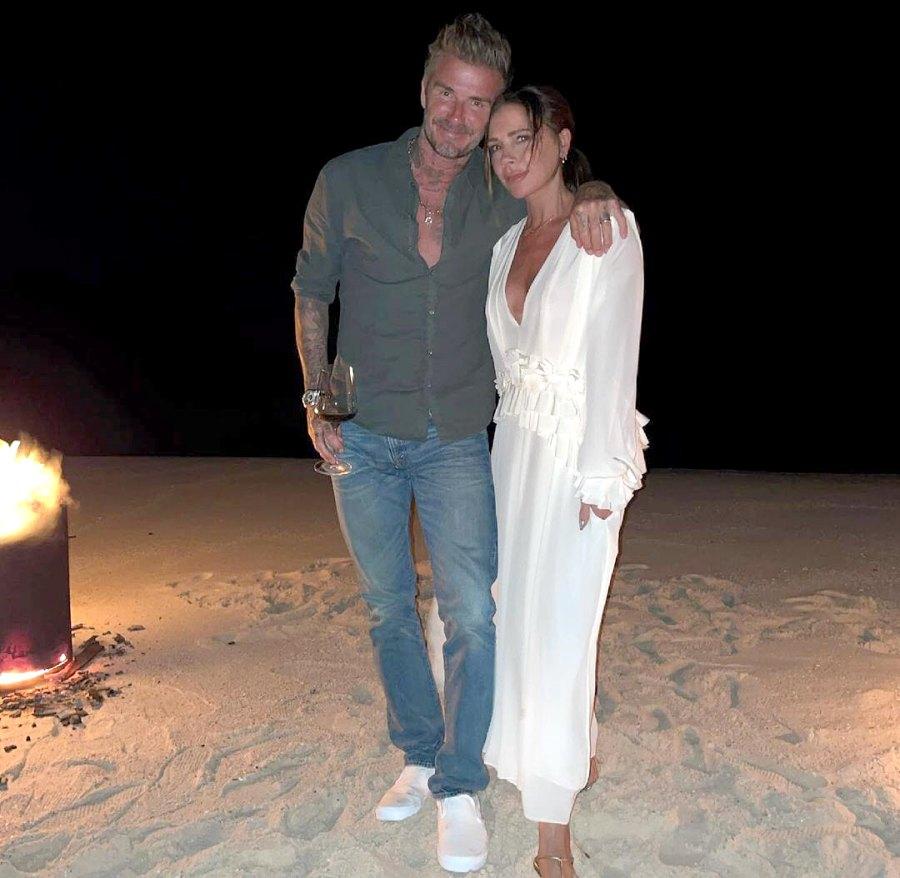 David Beckham Victoria Beckham Timeline Their Relationship April 2021