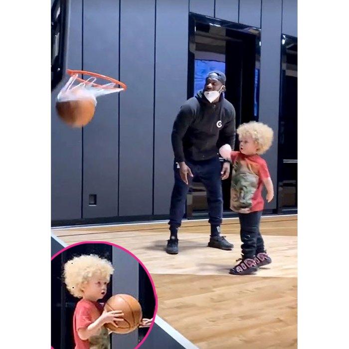 Drake comparte el adorable video de su hijo Adonis jugando baloncesto