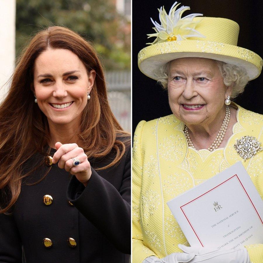 Duchess Kate Honored Queen Elizabeth II on Her Birthday by Wearing Her Earrings
