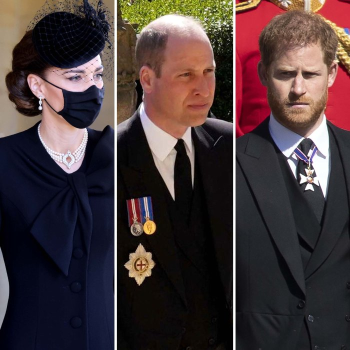 Duchess Kate Played PeacemakerWilliam Harry Philips Funeral