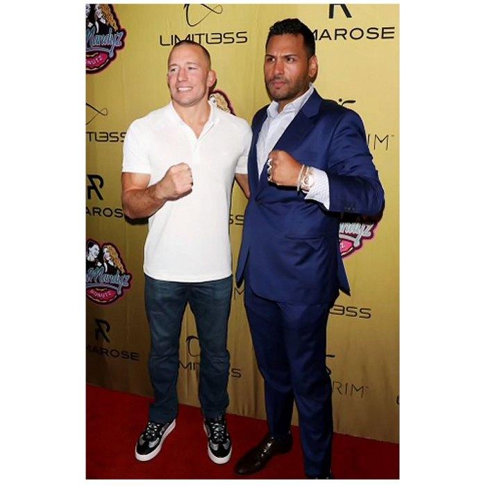 Entrepreneur Jas Mathur UFC Georges St-Pierre Spark Partnership Rumors