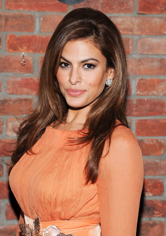 Eva Mendes Reveals Her Favorite Red Carpet Dress of All Time