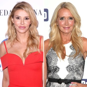 Friends Again Brandi Glanville Denies Feud With Kim Richards