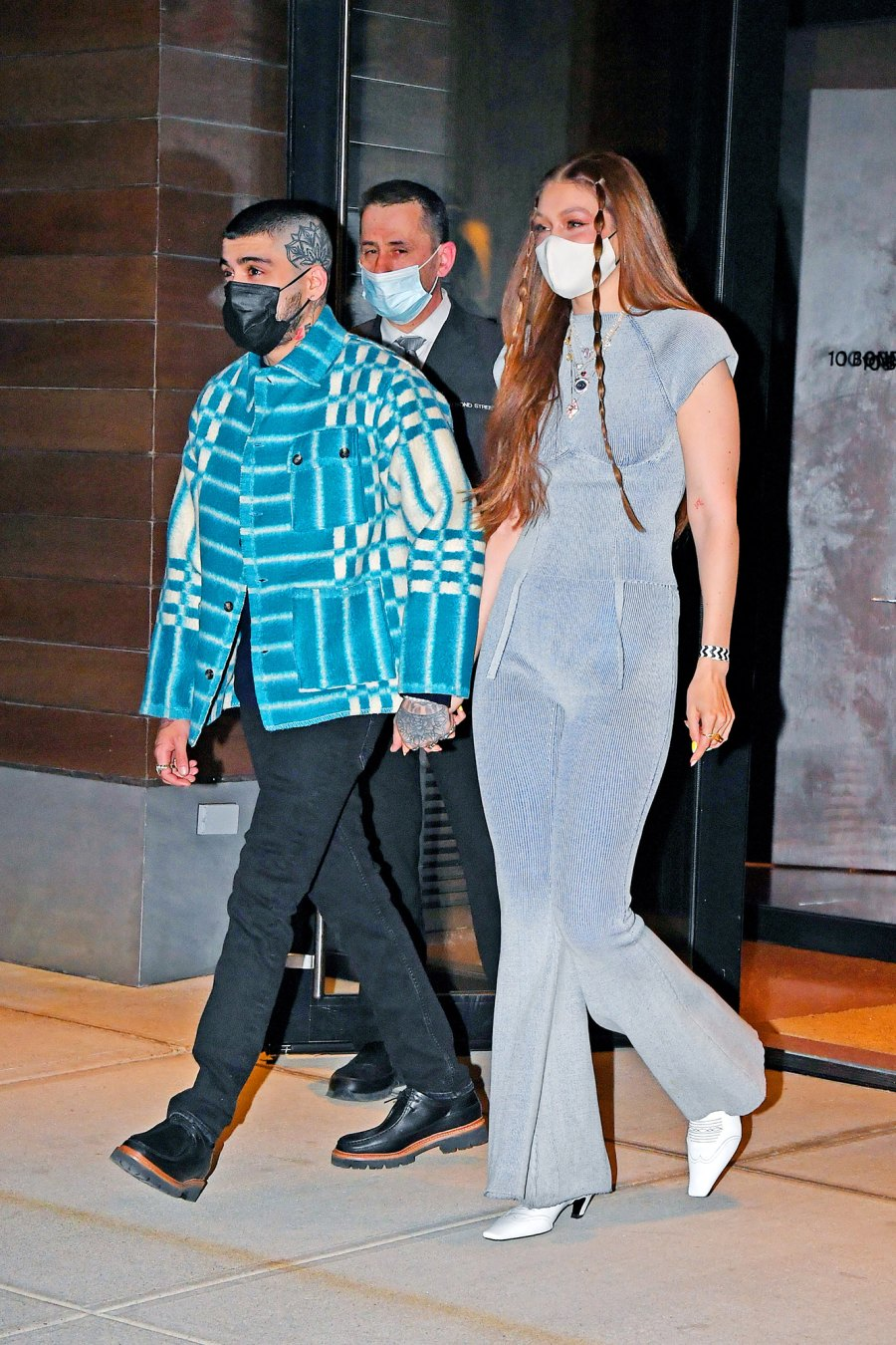 Gigi Hadid Celebrates Her Birthday With Zayn Malik and Bella Hadid in New York City