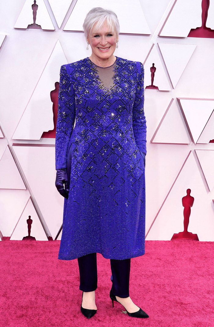 Glenn Close Breaks the Internet With Da Butt Dance at Oscars 2021
