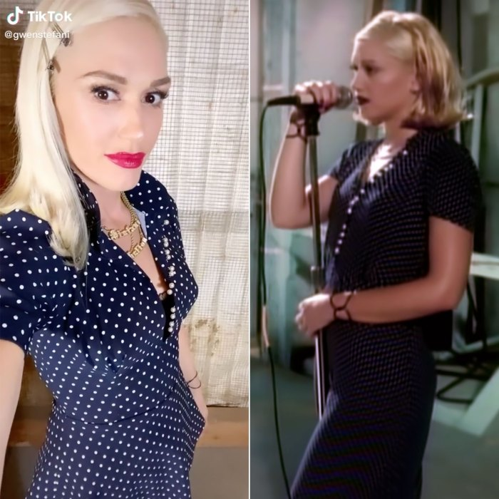 Gwen Stefani Rewears 'Don't Speak' Polka Dot Dress — 25 Years Later!