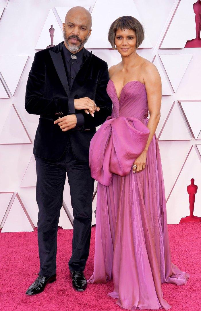 Halle Berry y Van Hunt llevan su romance a la alfombra roja
