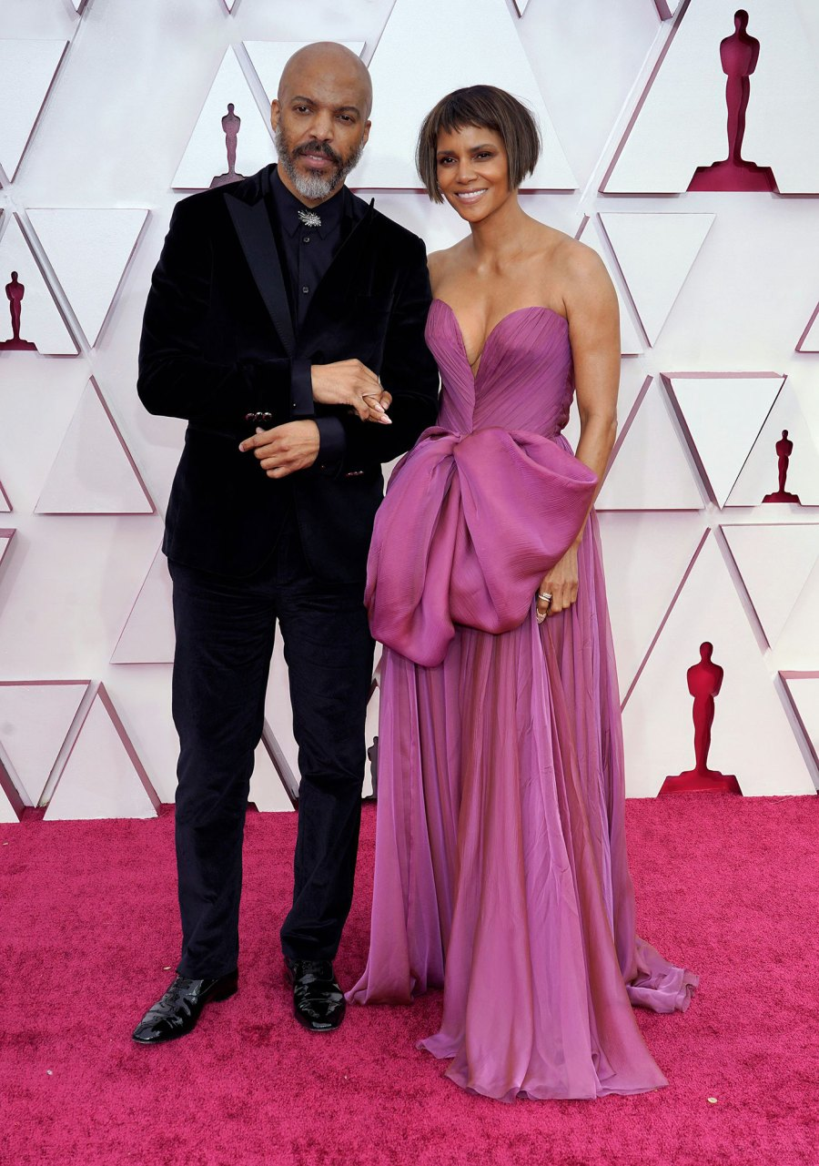 Halle Berry and Van Hunt Couples Dazzle at Oscars 2021