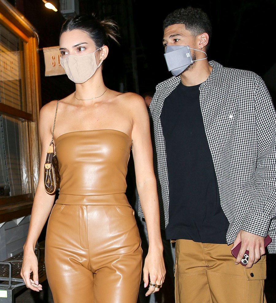 Happy Couple Kendall Jenner Devin Booker Hold Hands NYC