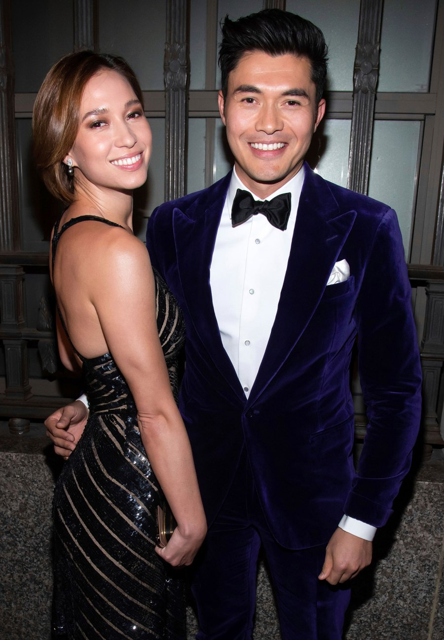 Henry Golding and Liv Lo Celebrity Babies of 2021
