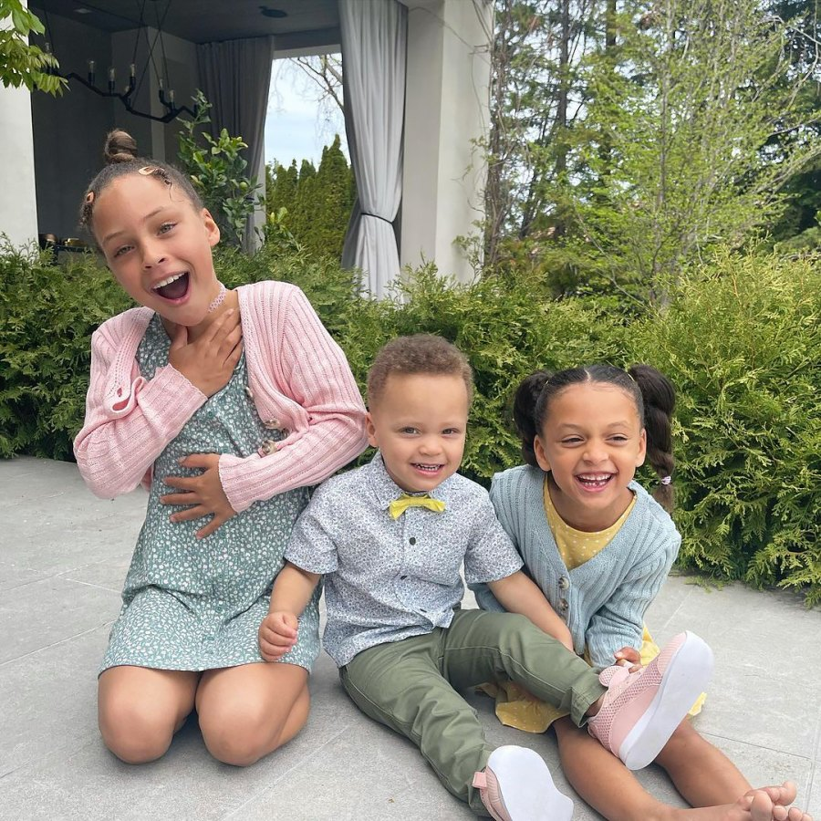 Ayesha Curry How Celebs Spent Easter 2021