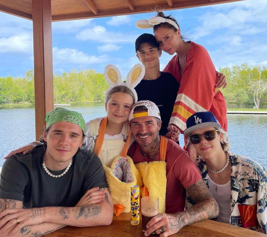 Brooklyn Beckham How Celebs Spent Easter 2021
