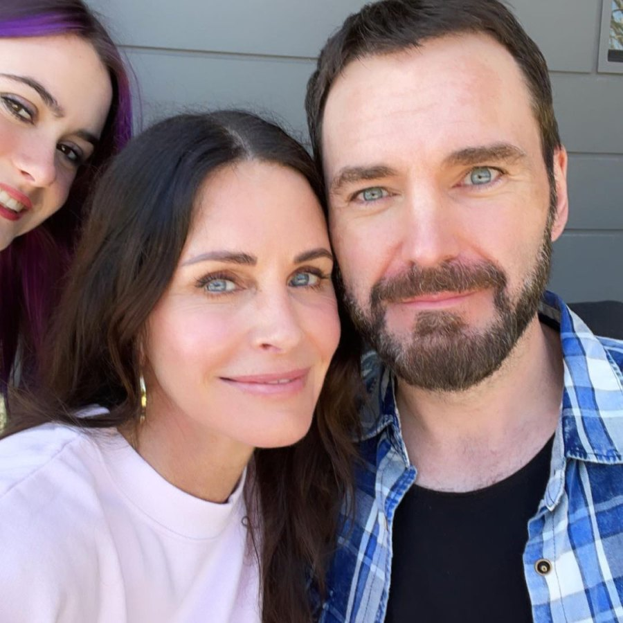 Courteney Cox How Celebs Spent Easter 2021