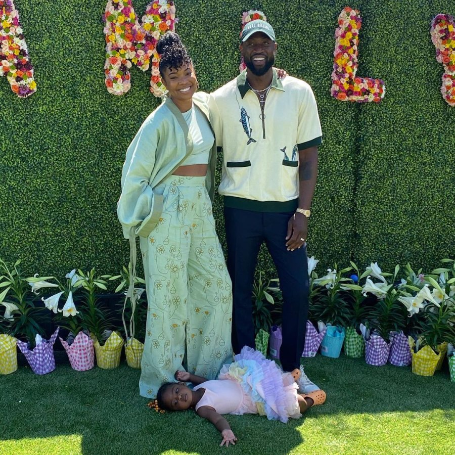 Gabrielle Union How Celebs Spent Easter 2021