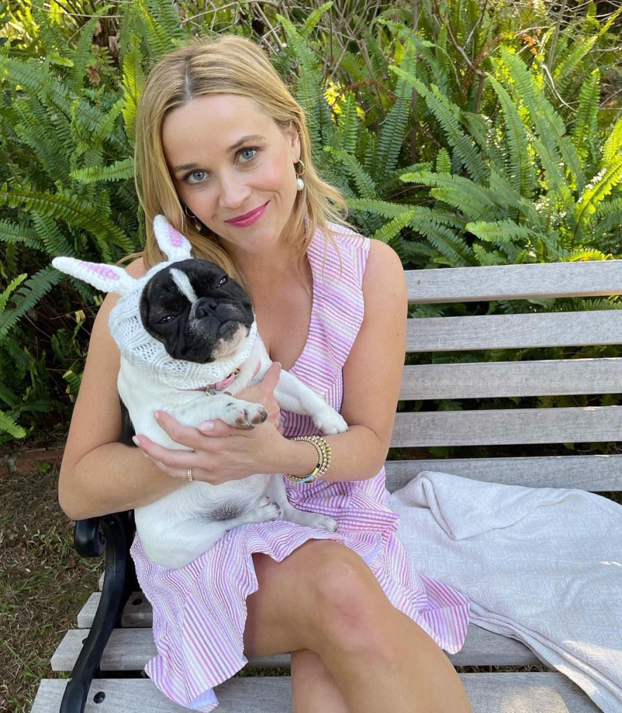 Reese Witherspoon How Celebs Spent Easter 2021