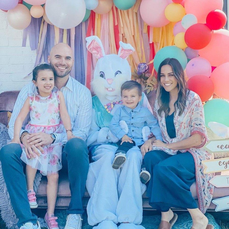 Jana Kramer Parents Dress Kids in Festive Easter Outfits
