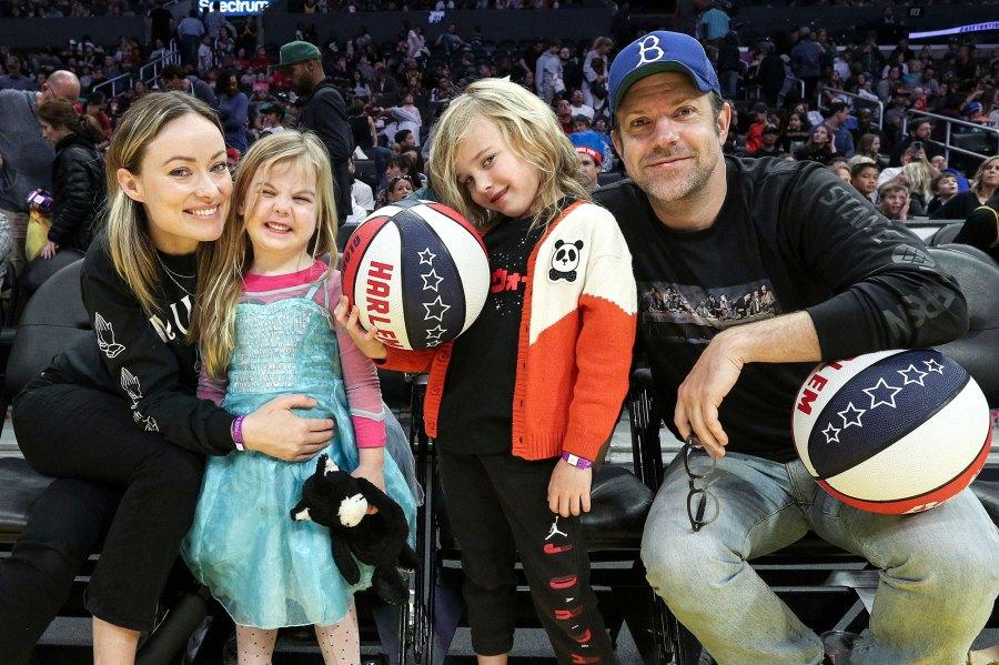 Jason Sudeikis and Olivia Wilde Family Photos