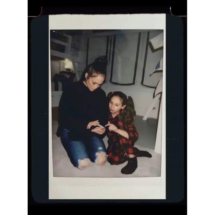 Jennifer Lopez envía un mensaje de feliz cumpleaños a la hija de Alex Rodríguez, Ella