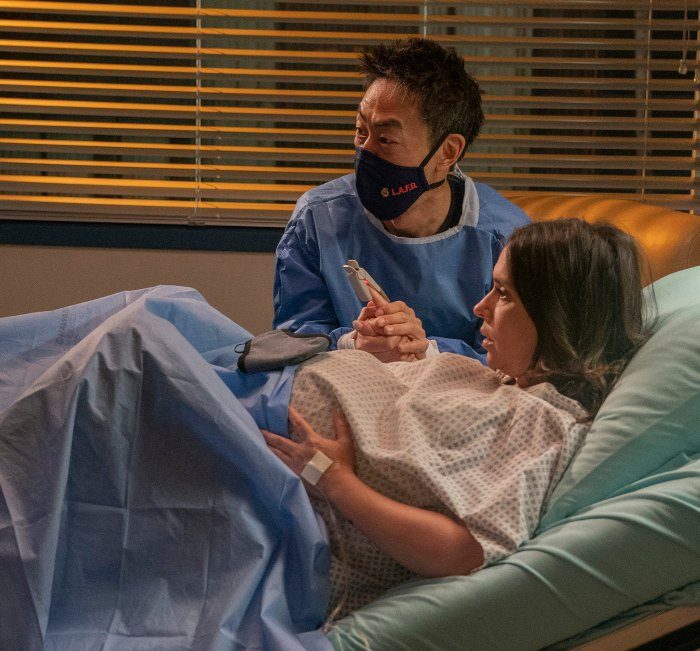 Jennifer Love Hewitt Broke Capillaries While Filming Birth Scene on 911