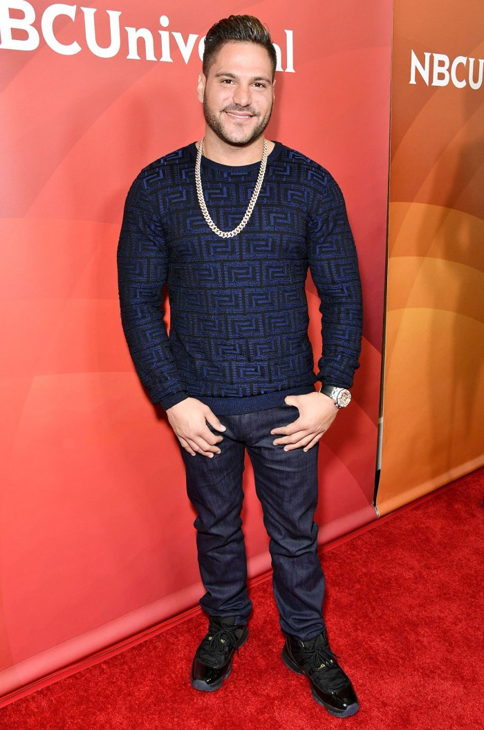Jersey Shore Ronnie Ortiz-Magro Arrested Felony Domestic Violence