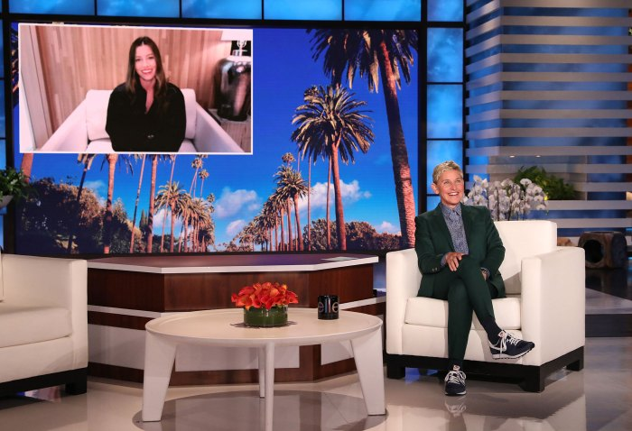Jessica Biel Says Raising Her and Justin Timberlake 2 Kids Feels Like a Thousand Jokes Ellen DeGeneres Show