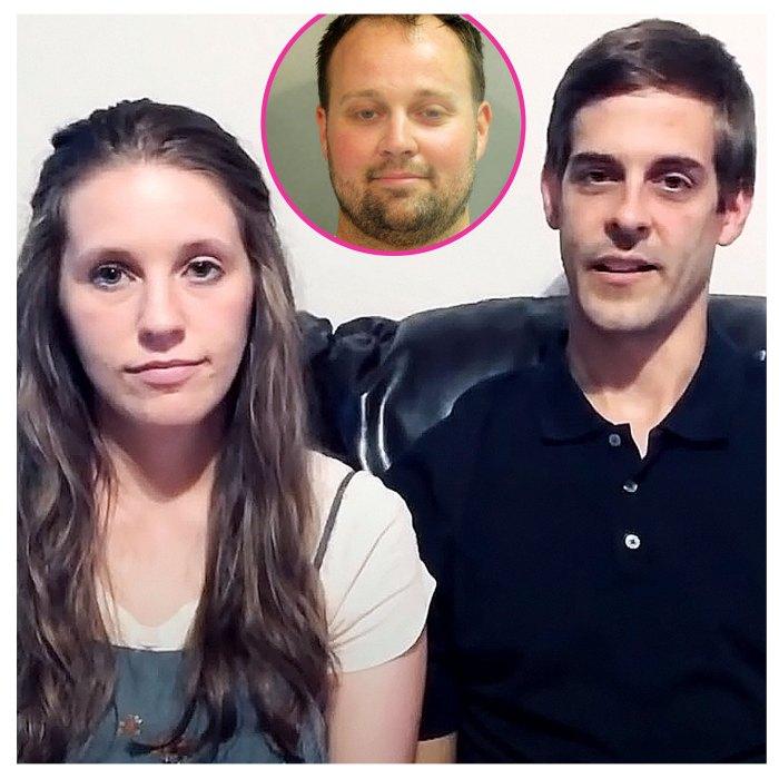 Jill Duggar Derick Dillard dice que el arresto de Josh Duggar es muy triste