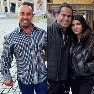 Joe Giudice: It Was 'Awkward' to See Teresa With Her Boyfriend Louie