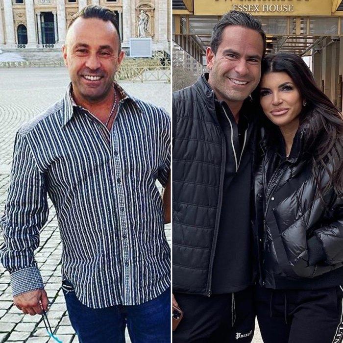 Joe Giudice Details 'Awkward' Reunion With Ex-Wife Teresa Giudice and Boyfriend Luis 'Louie' Relas