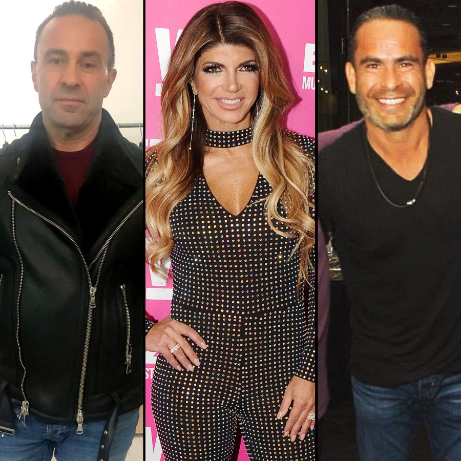 Joe Giudice and Teresa Giudice Put on United Front With Her BF Louie Ruelas Amid RHONJ Drama