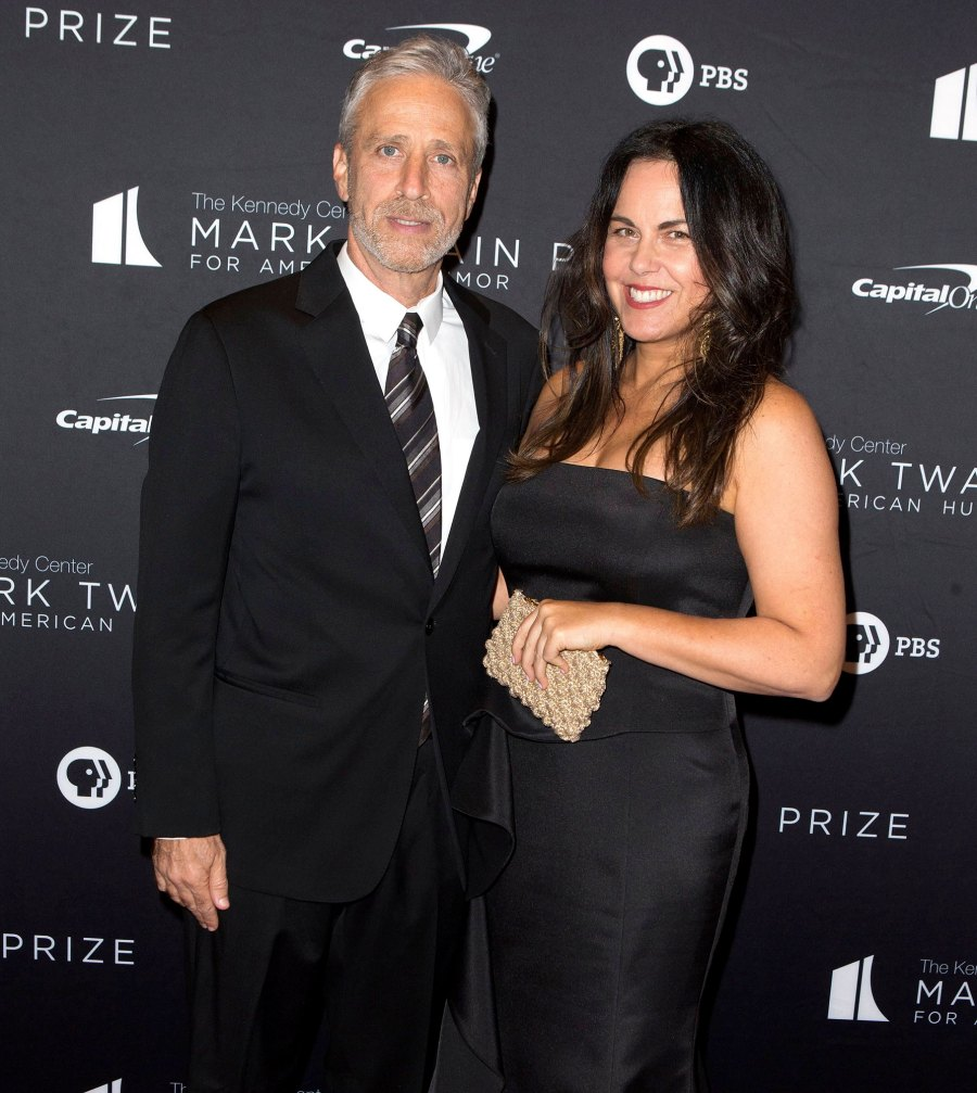 Jon Stewart and Tracey McShane Celebrities Who Fell in Love With Non-Famous People