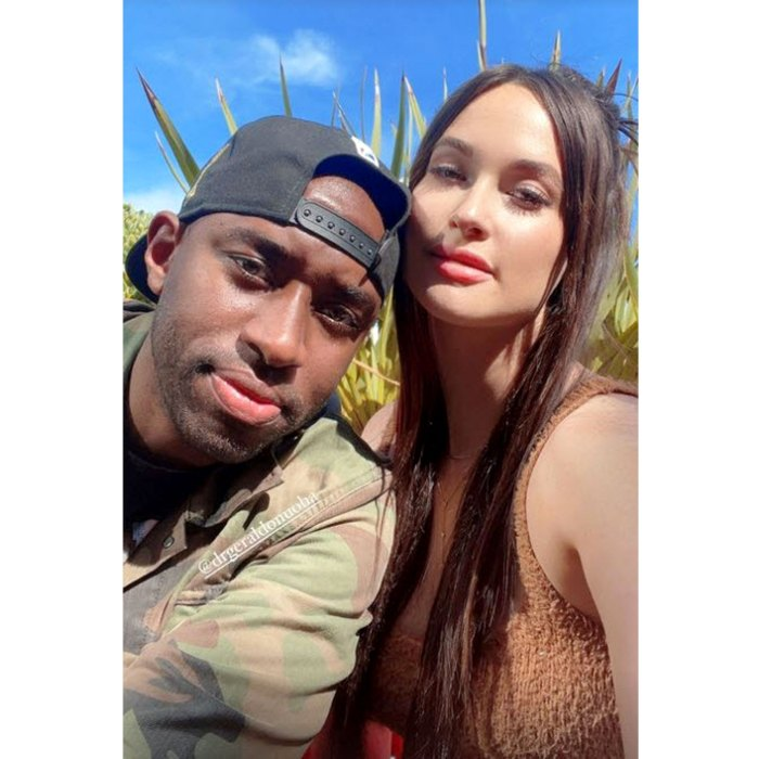 Kacey Musgraves desata rumores de romance con Gerald Onuoha después del divorcio de Ruston