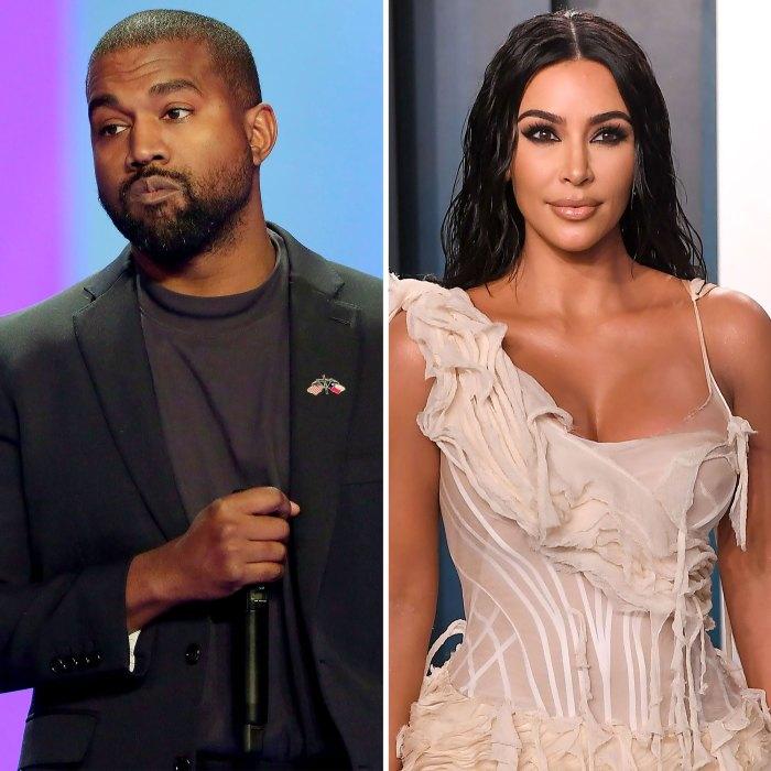 Kanye West responde a los detalles de la petición de divorcio de Kim Kardashian